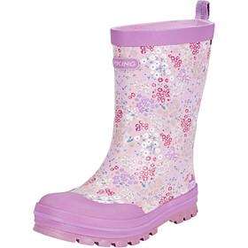 Viking Footwear Mimosa - Bottes en caoutchouc Enfant - rose/violet